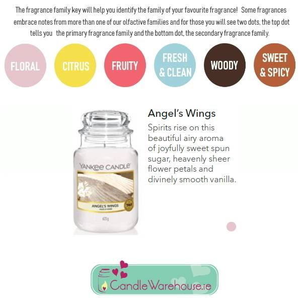 Angels Wings Large Yankee Candle