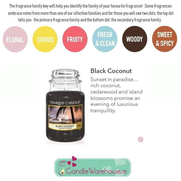 Black Coconut Large Yankee Candle