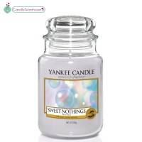 Sweet Nothings Large Yankee Candle