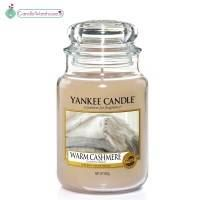 Warm Cashmere Large Yankee Candle