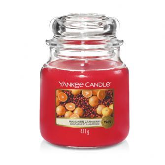 Mandarin Cranberry Medium Yankee Candle