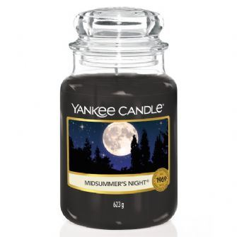 Midsummers Night Large Yankee Candle