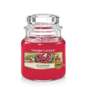 Red Raspberry Small Yankee Candle