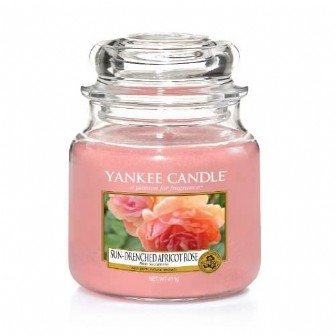 Sun-Drenched Apricot Rose Small Yankee Candle