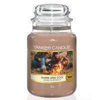 Warm and Cosy Large Yankee Candle