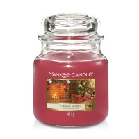 Holiday Hearth Medium Yankee Candle