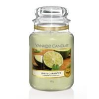Lime and Coriander Large Yankee Candle