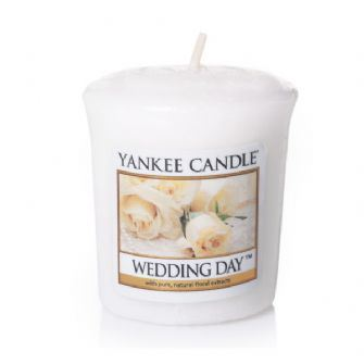 Wedding Day Votive