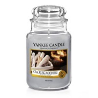 Crackling Wood Fire Large Yankee Candle