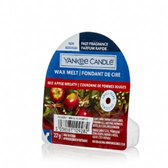 Red Apple Wreath Yankee Candle NEW Wax Melt