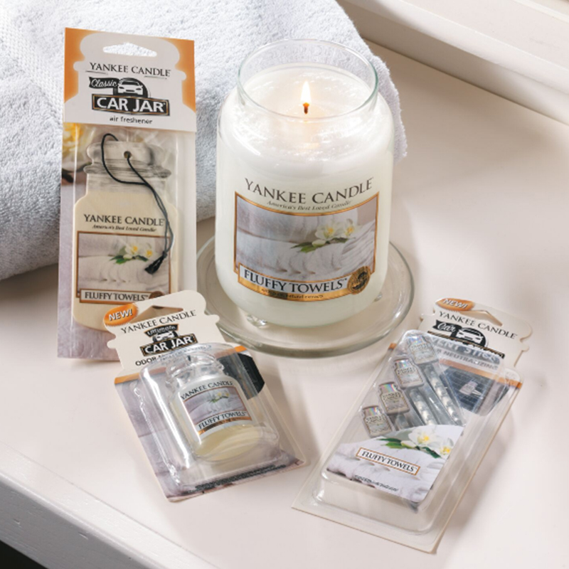 Fluffy Towels Large Yankee Candle